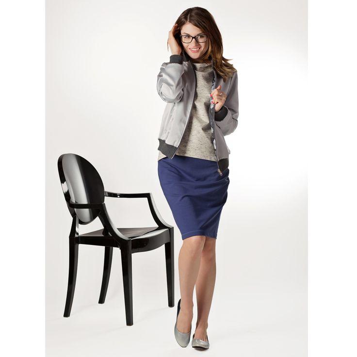 Dwustronna bomberka #moda # kurtka # trendy #look #casual #styl #fashion #fashions  #bomberka #moda #na #wiosne