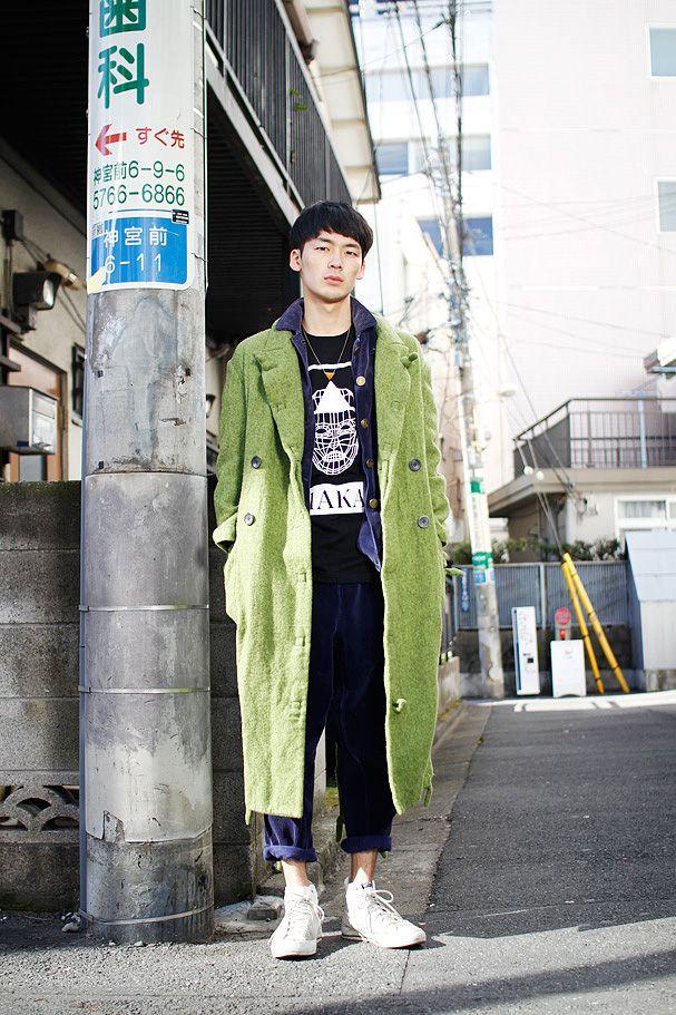 Odabutsu Street Style #Japan
