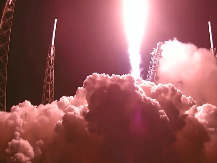 On the fifth encounter between Space's Falcon 9 rocket and its autonomous drone barge, the rocket's first-stage booster crashed into the boat. Hard.