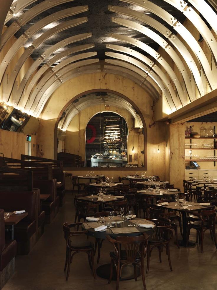 Chophouse - Sydney: Cafe Coffeeshop Tearoom, Brown Dresses, Cafe Interiors, Beautiful Places, Tall Ceilings, Café Bar Restaurant, Shops Restaurant Cafe Bar, Arches Form, Cafe Bar Restaurant