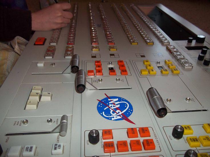 Kid's NASA Spaceship launch control #houston