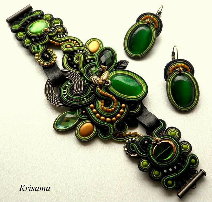 Soutache: How to make beautiful braid-and-bead embroidered jewelry and accessories