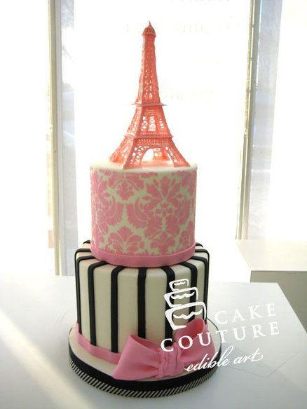 Paris... Bridal shower cake  Cake by Cake Couture - Edible Art