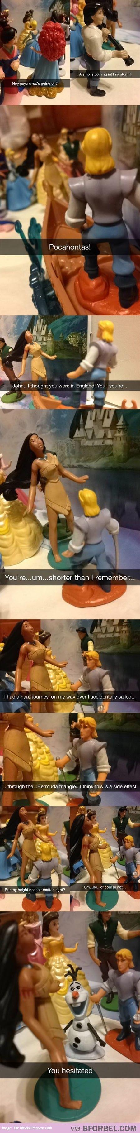 Disney Comic Snapchat Strip… bforbel.com