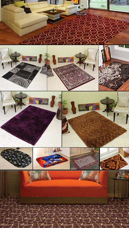 Find your #design from our huge collections of #carpets, rugs, shaggy carpets, mats, wall to wall carpets. You can also design your own #carpet and we will make it for you.
