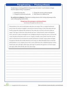 1000+ images about School/Paraphrasing on Pinterest   Worksheets ...