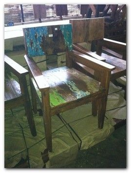 Recycled Bali Boat Furniture 1a Part 89