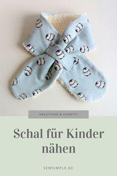 ᐅ eBook: Schal für Kinder nähen