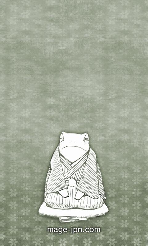 rakugo frog 落語カエル