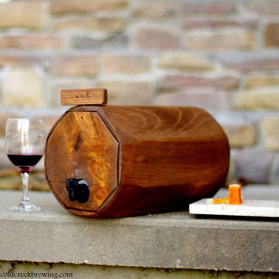 Mini Wine Barrel  - great for parties!
