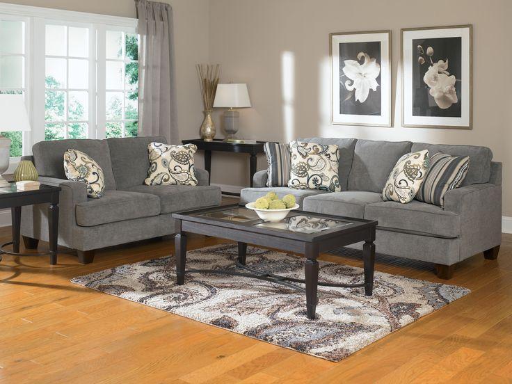 Best Buy Furniture And Mattress Yvette Steel Sofa U0026 Loveseat