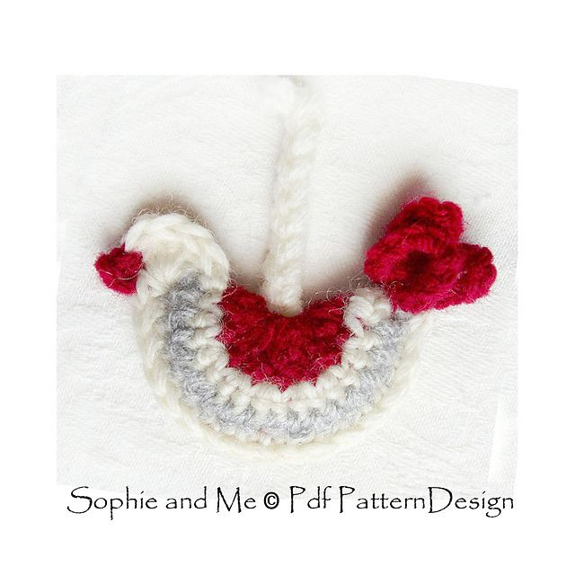 Ravelry: BIRD ORNAMENT pattern by Sophie and Me-Ingunn Santini