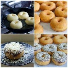 Donat Kampung (Old Fashion Doughnut)