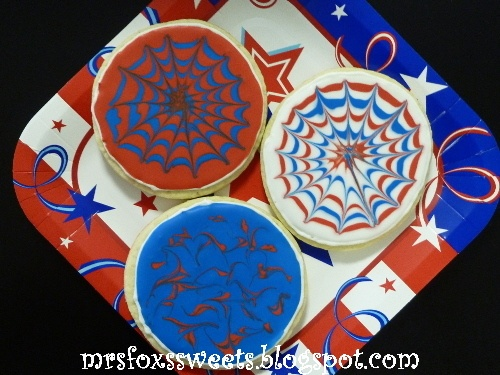 Fireworks Cookies | 4th of July | Pinterest