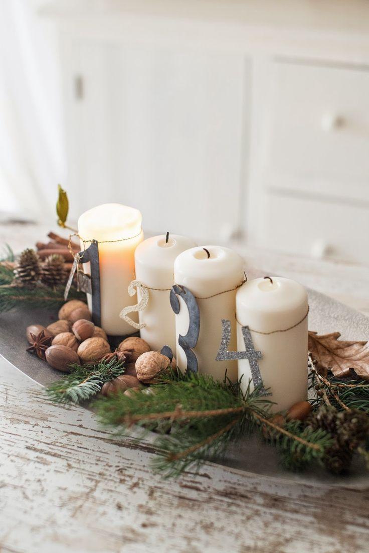 adventskranz mal anders weihnachtsdekoration deko. Black Bedroom Furniture Sets. Home Design Ideas