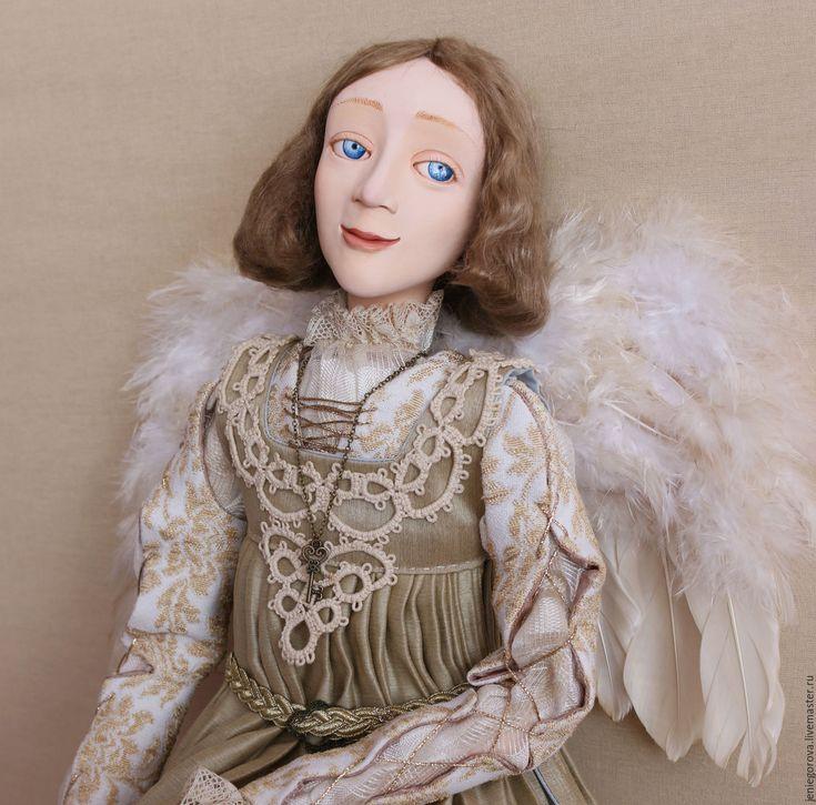 Купить «Ангел Renaissance» подвижная кукла. - золотой, ангел, Возрождение, исторический костюм, подвижная кукла