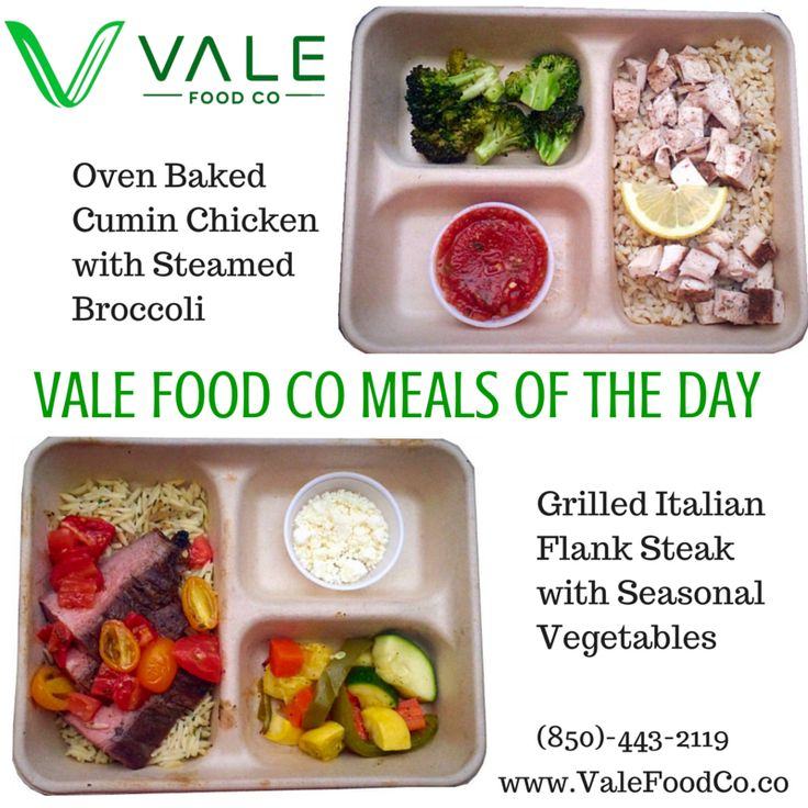 Oven Baked Cumin Chicken with Steamed Broccoli! Grilled Italian Flank Steak with Seasonal Vegetables! #healthyfood #vale #valemeals #valefoodco #tallahassee #seminoles #eatclean #mealplans #tcc #famu #nutrition #healthyliving #catering #FSU #fsufootball #health #weightloss #vegetarian #maintain #IHeartTally #Tally