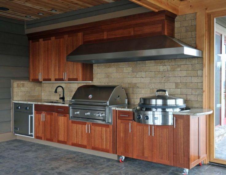 So bauen Sie Outdoor-Küchenschränke – AllstateLogHomes.com