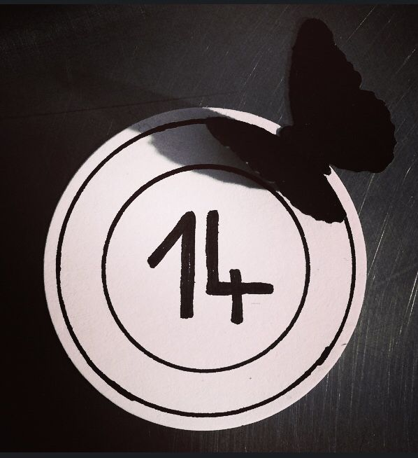#14 #officina14 #butterfly
