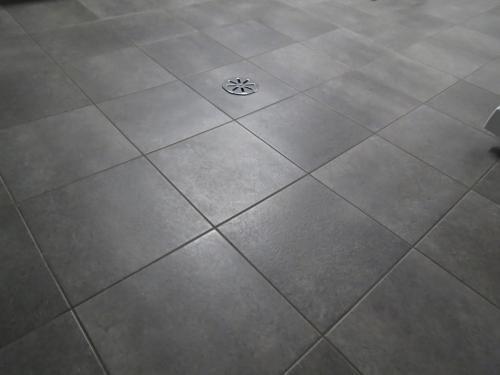 Dark Gray Vinyl Tile From Home Depot Flooring