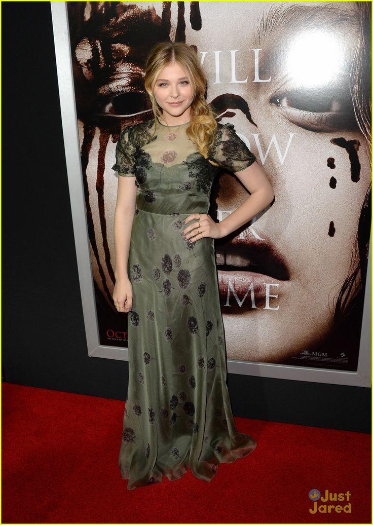 Chloe Moretz: 'Carrie' Hollywood Premiere | chloe moretz carrie hollywood premiere 07 - Photo