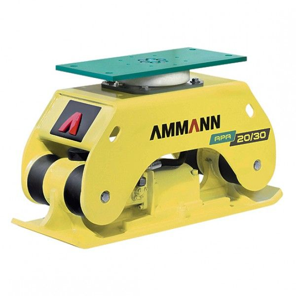 At 160 Kg The Apa 20 30 Is The Smallest Ammann Add On Compactor It Works With Mini Excavators In The Range Of 2 Tonnes To Compactor Compactors Mini Excavator
