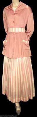 Edwardian Suit Jacket and Skirt - c. 1910 - The Barrington House Educational Center, L.L.C.