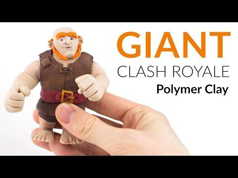 Giant (Clash Royale) Polymer Clay Tutorial