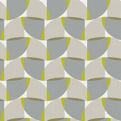 Fjord Aspect Citrus (ASPECT CITRUS) - iliv Wallpapers - An all over wallpaper design featuring a random geometric motif. Shown here in the citrus colourway. Other colourways are available. Please request a sample for a true colour match.