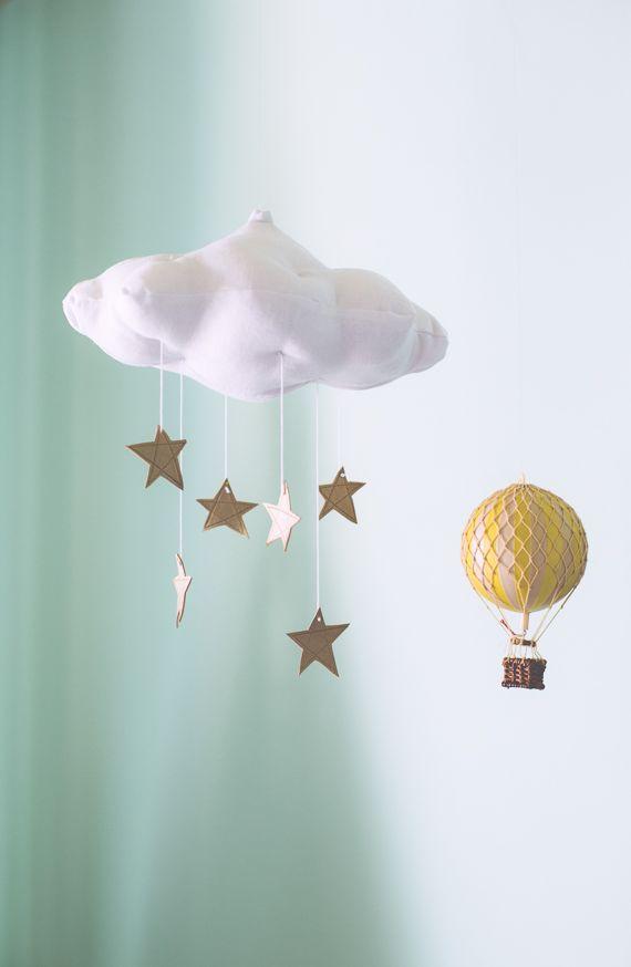Cloud stars DIY