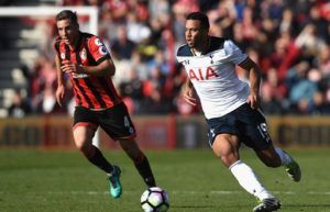Prediksi Skor EPL Tottenham Hotspur vs Bournemouth 15 April 2017