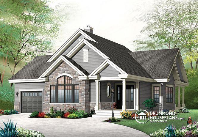 100 House Plan W3323 V2 Detail