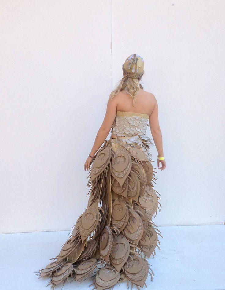 Cardboard fashion garment | Art and Inspiration | Pinterest ...