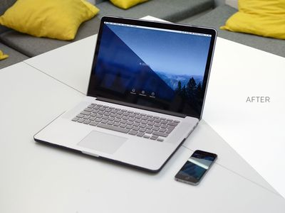 Free Macbook Pro 15 PSD Mockup