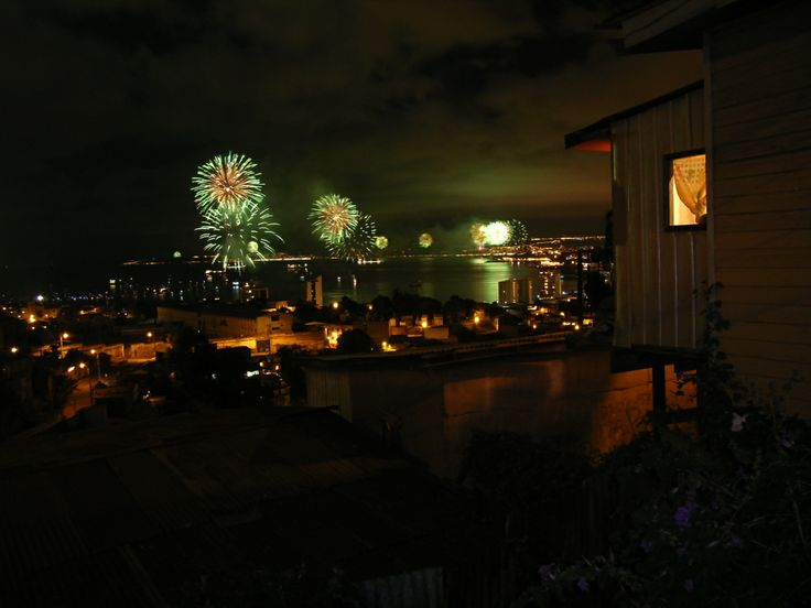 New year´s eve in Valparaiso, #Chile