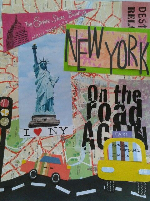 I love New York!! by Antonia Gonzalez