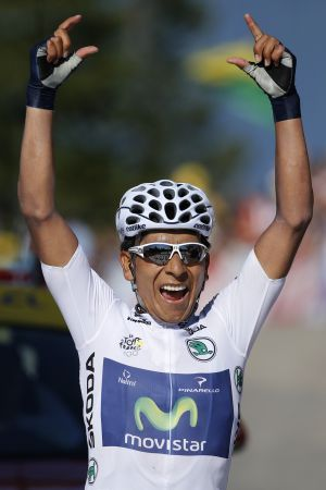 Nairo Quintana 2nd in TdF 2013...watch out he is going to be HOT in 2014!!
