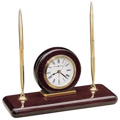 Howard Miller Alarm Executive Desk Set Clock
