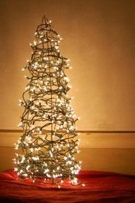 Tomato wire stand- Christmas Tree