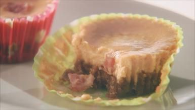Bacon Cheesecake Bites from Giada at Home: Ghoulish Goodies