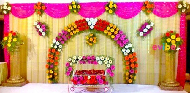 Book Best Gerbera Floral Naming Ceremony Decor Birthday Moderate Flower Decorations From Top Ceremony Decorations Wedding Design Decoration Flower Decorations