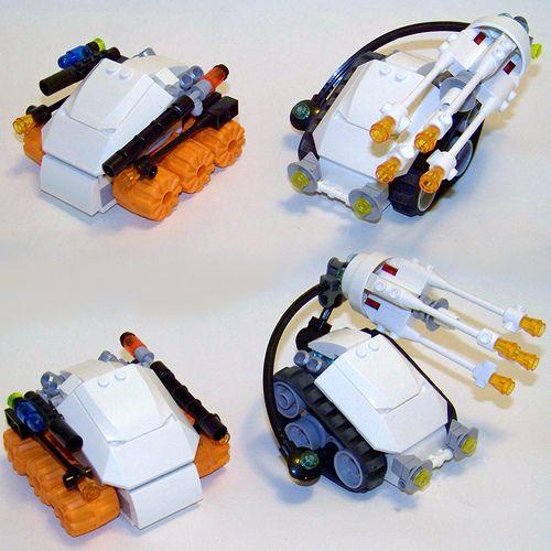 LEGO - Mars Mission Subterranean Force 1 & 2 | by Slayerdread