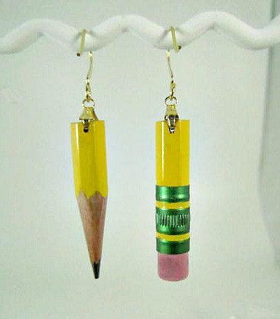 Boucles d'oreilles crayons