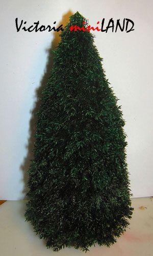how to: Lycopodium Christmas tree