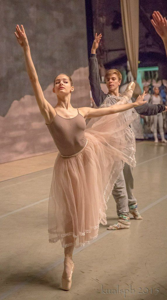 "Day 2 of Vaganova Academy's ""Nutcracker"" rehearsals on the Mariinsky stage. Part 3. Photos by Alexander Ku."