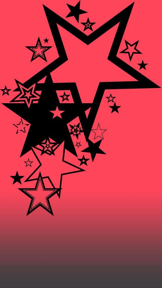 Pink Black Stars Myspace 77