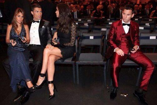 Cristiano Ronaldo Lionel Messi girlfriend