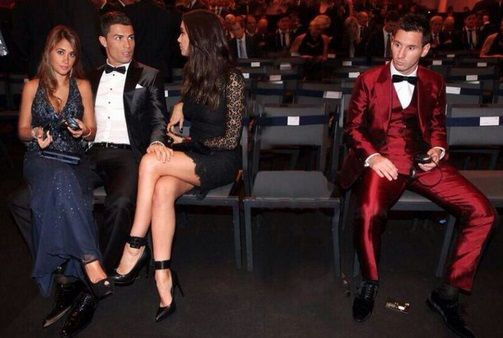 Cristiano Ronaldo Lionel Messi girlfriend