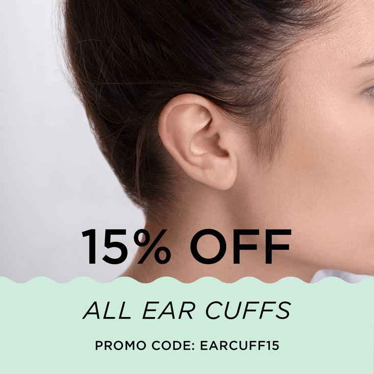 15% OFF ALL EAR CUFFS!