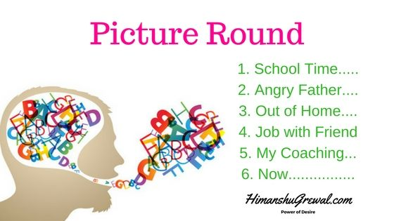 Picture Round English Speaking Course